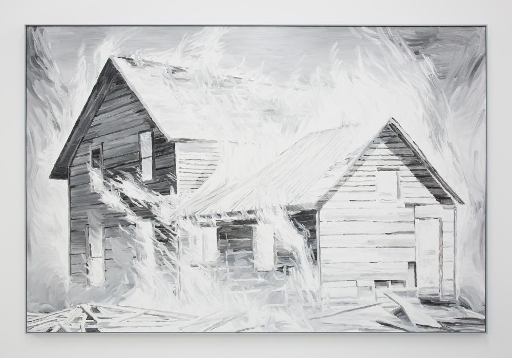 """""""Elegy (House on Fire),"""" 2019."""