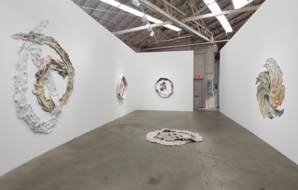 Brie Ruais, Installation view at Night Gallery, 2018.