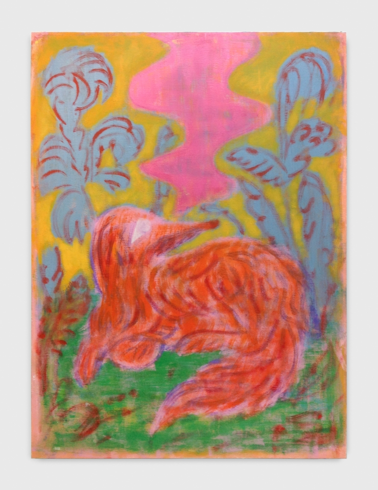 "Michael Berryhill, ""Dog Dream Afternoon,"" 2017"