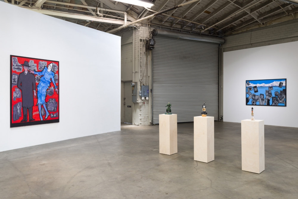Derek Boshier, On The Road, installation view, 2017