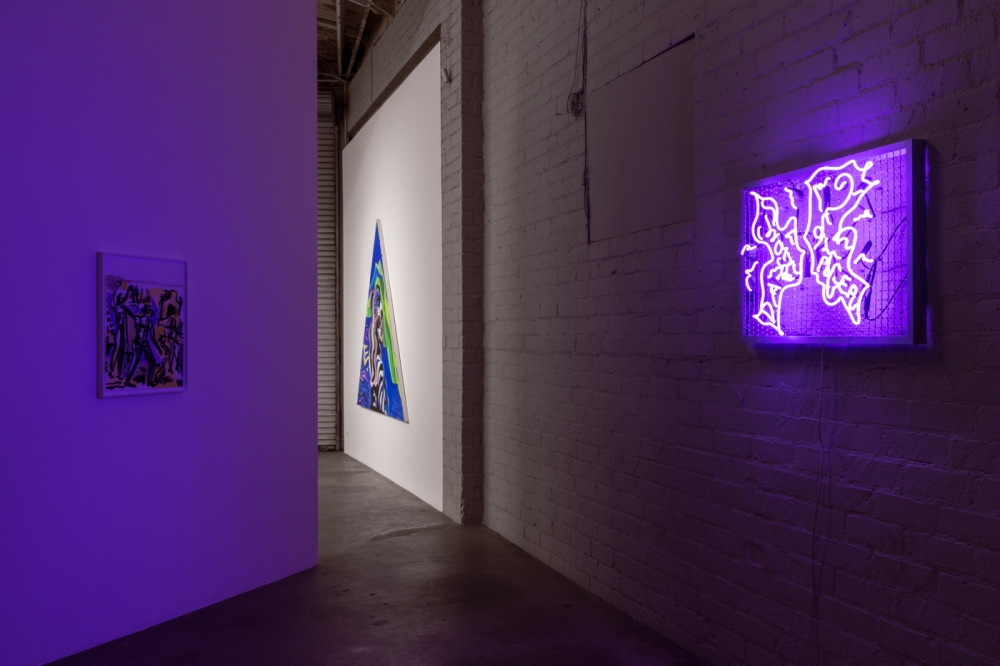 Installation view, High Hell​, 2018.