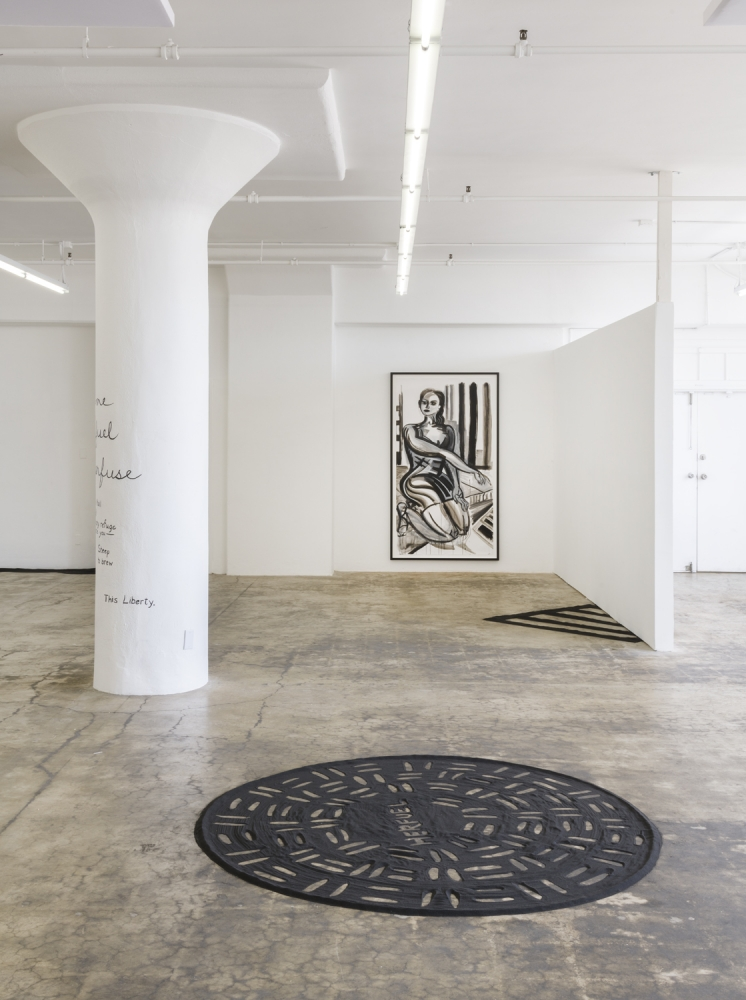 Herfugue, Installation view at JOAN, Los Angeles, 2019.