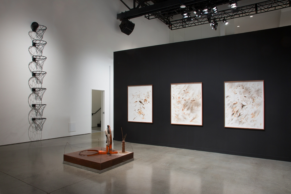 Installation view at Independent NY, 2020.