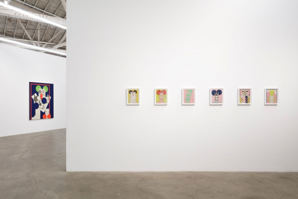 Howl, Installation view at NIght Gallery, 2019