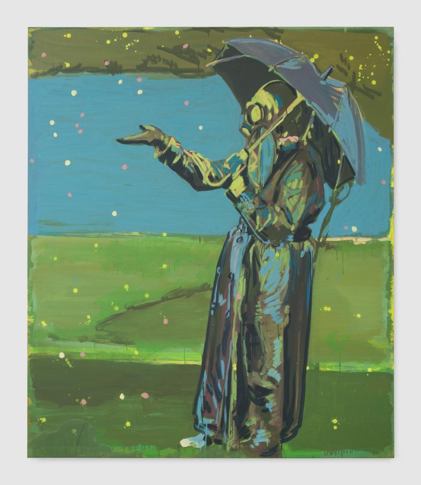 """Claire Tabouret, """"The Rain,"""" 2018"""