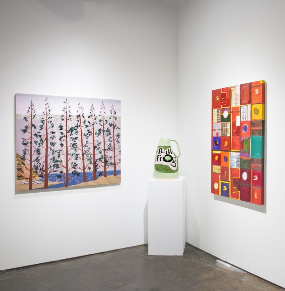 Installation view at NADA Miami, 2018