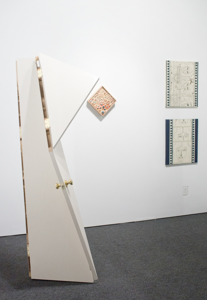 Installation view, Art Los Angeles Contemporary, 2013.