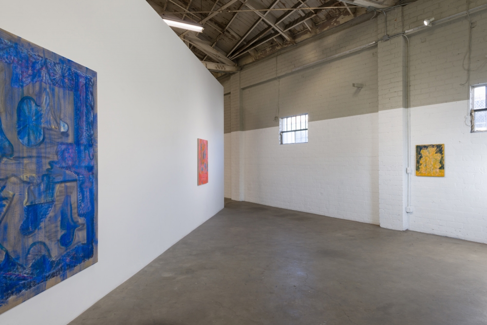 Michael Berryhill, Loony Tombs, installation view, 2016.