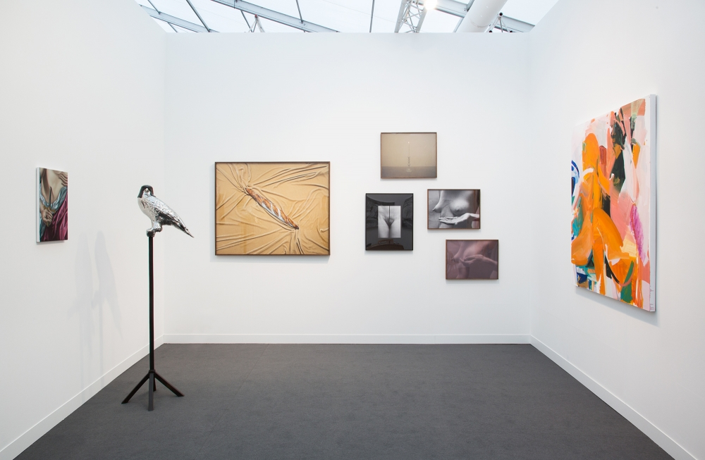 Installation view at Frieze London, 2019.