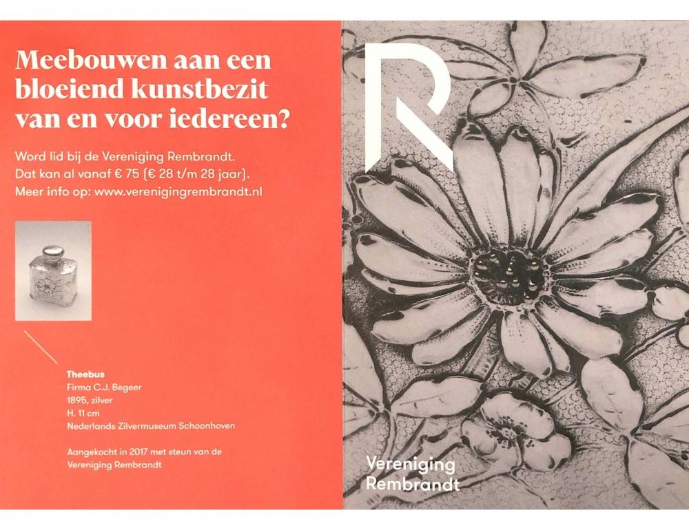 Vereniging Rembrandt 2020 TEFAF selection