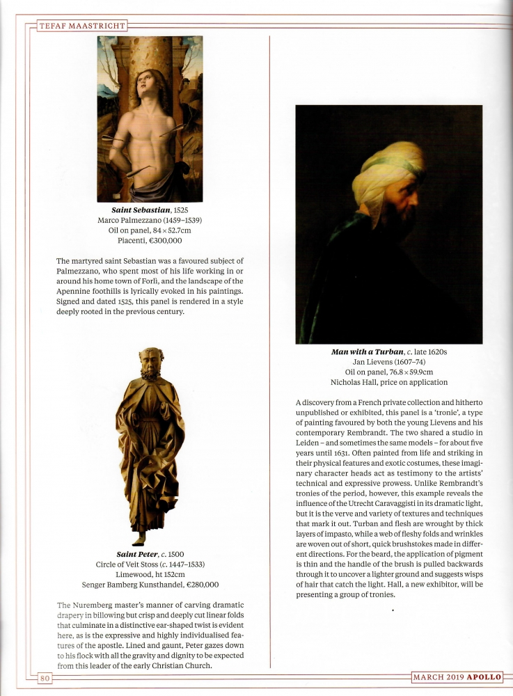 Apollo Magazine | Susan Moore (print)