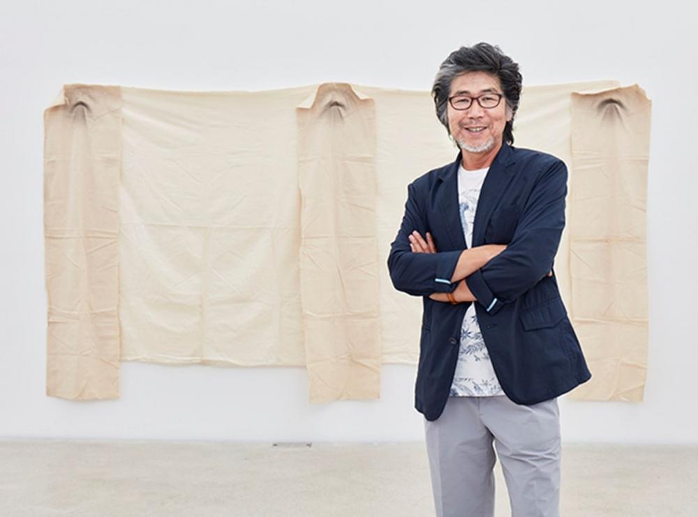 Kim Yong-Ik Portrait, Artwork: Plane Object