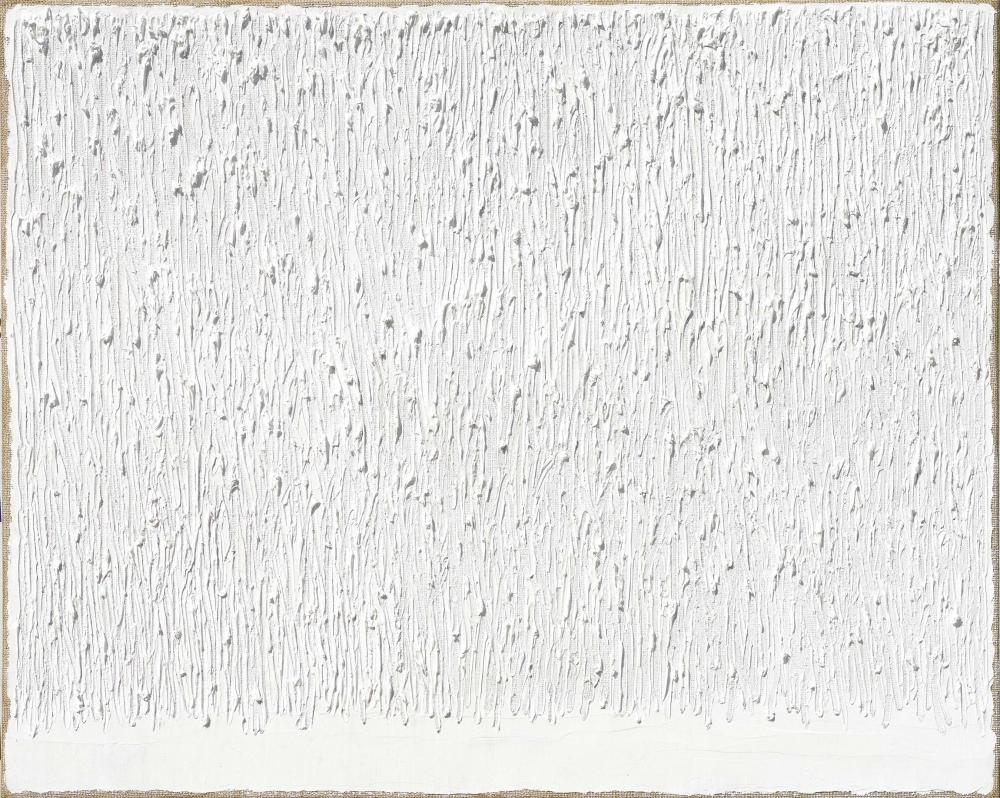 "Ha Chonghyun, ""Conjunction 09-52"" (2009), oil on canvas, 51 3/16 x 63 3/4 in (130 x 162 cm) (photo by Genevieve Hanson)"