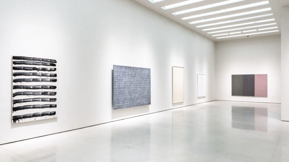Park Seo-Bo Installation View Marking Time Guggenheim Museum