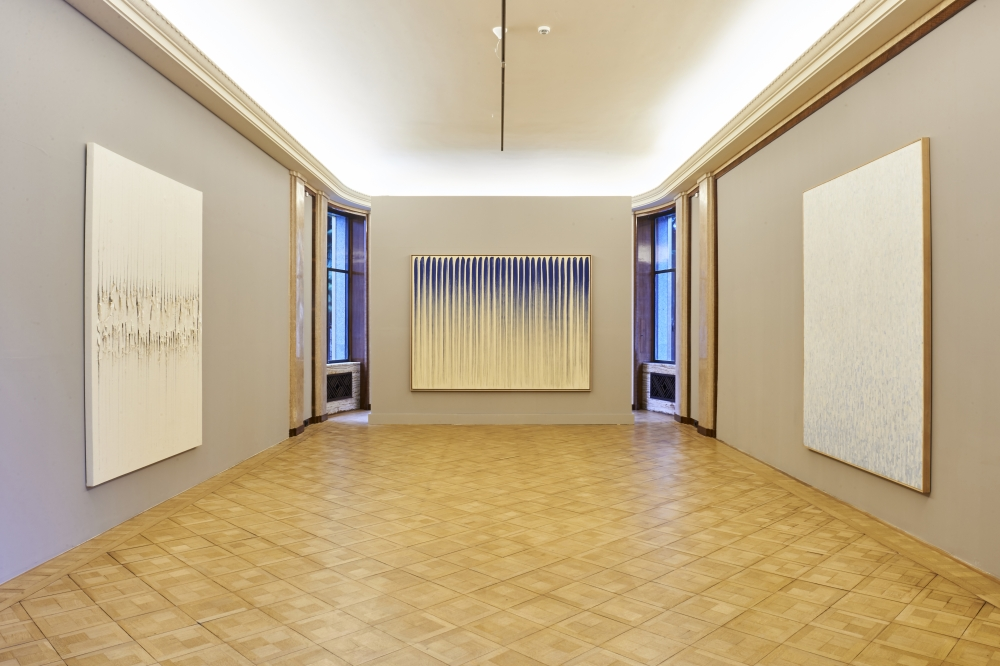 Installation View of Dansaekhwa: When Process becomes Form