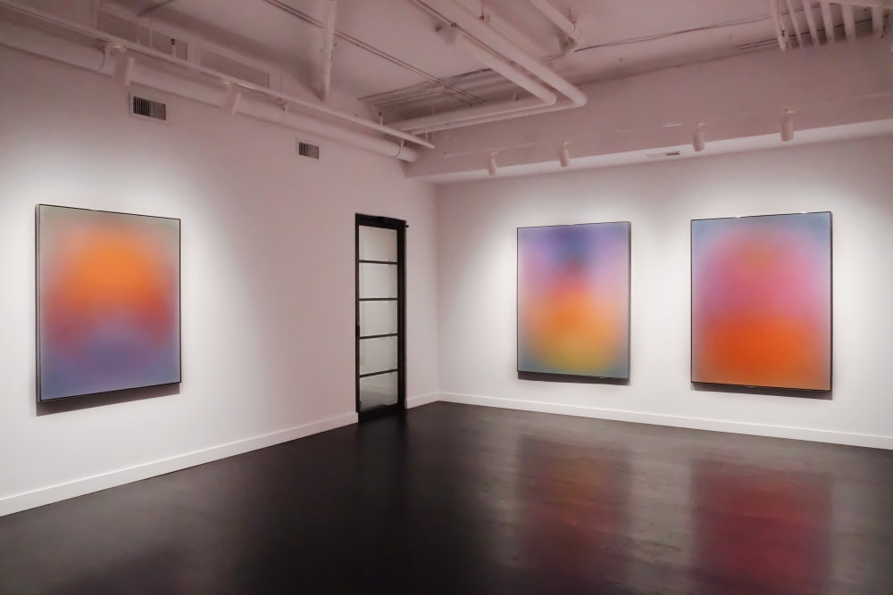 """""""In the galleries: Tracing a generational progression in abstract art"""""""