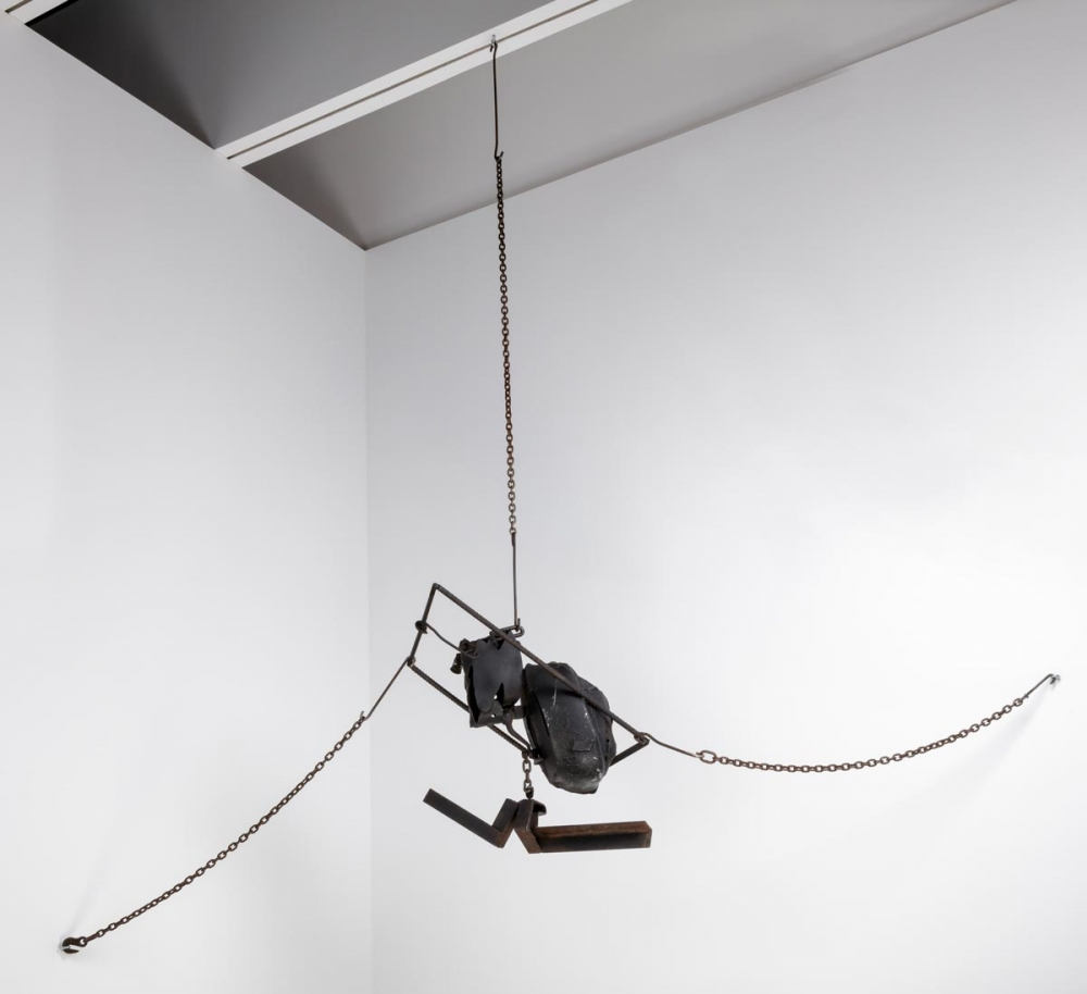 Melvin Edwards, Cotton Hangup, 1966, Collection of the Studio Museum in Harlem