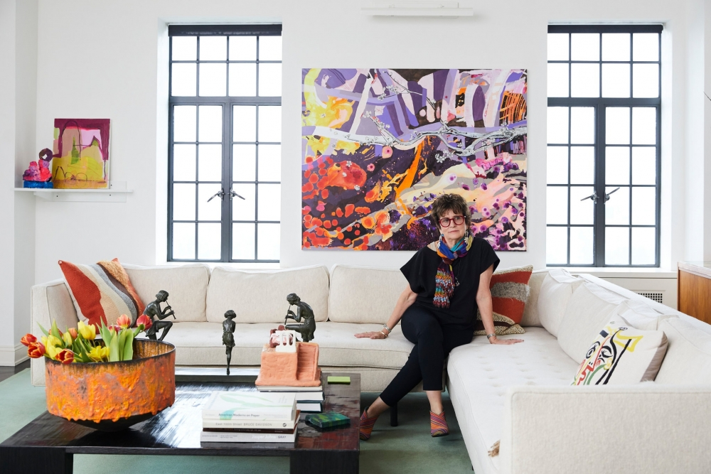 """Francie Bishop Good profiled in The New York Times feature """"Show Us Your Wall"""""""
