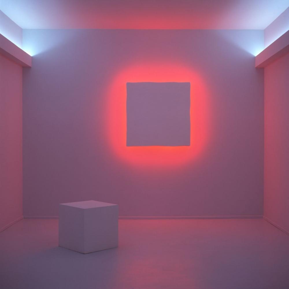 """Stephen Antonakos: """"The Room Chapel"""" at Allentown Art Museum"""
