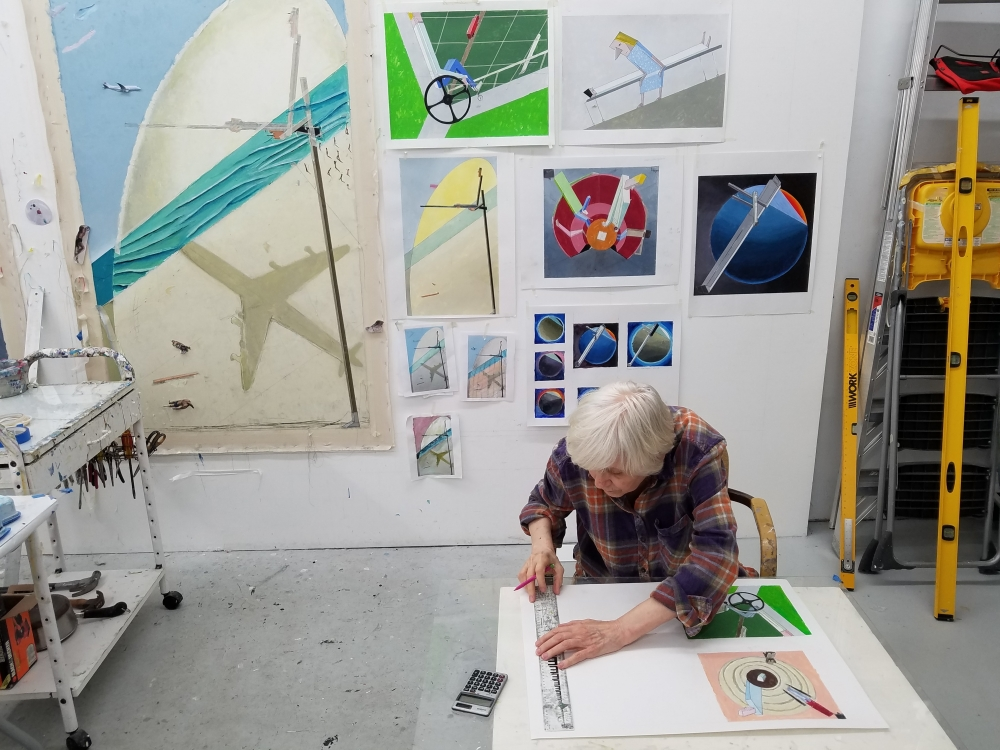 Studio Visit with Mernet Larsen