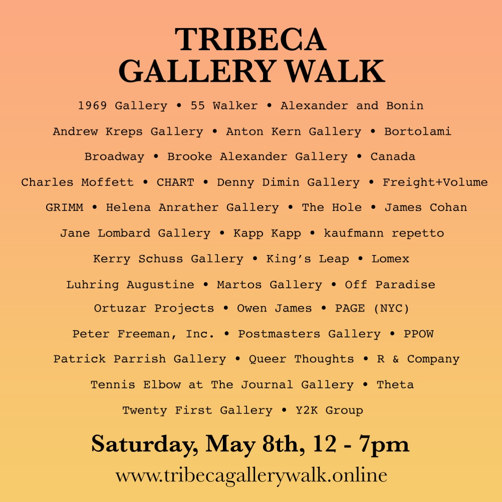 James Cohan at Tribeca Gallery Walk