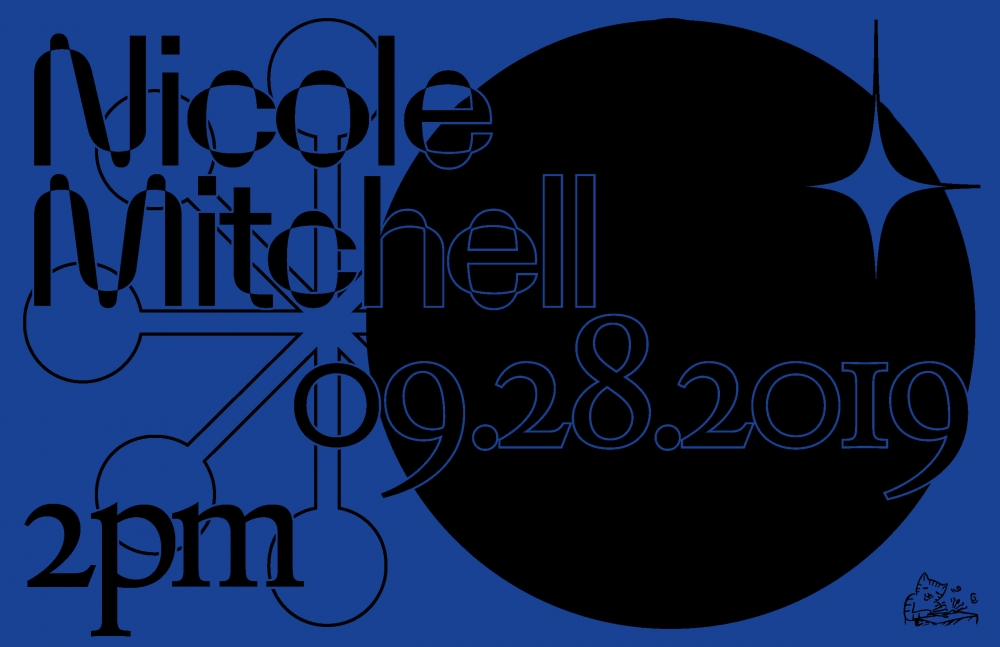 Blank Forms Presents: Nicole Mitchell at James Cohan