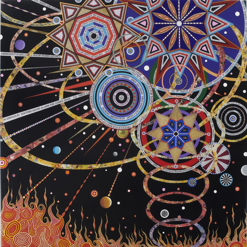 """Fred Tomaselli: High Times"" by Tina Rivers Ryan, Ph.D."