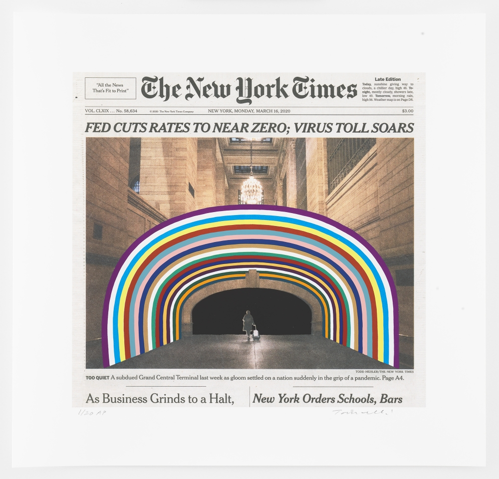 New Print by Fred Tomaselli
