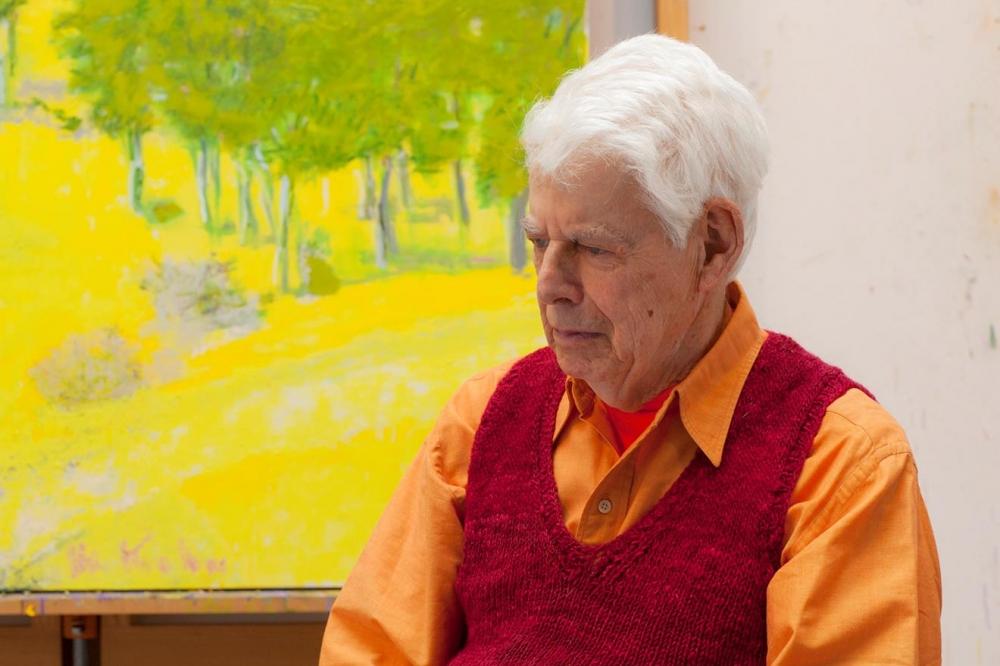 Wolf Kahn   1927 - 2020