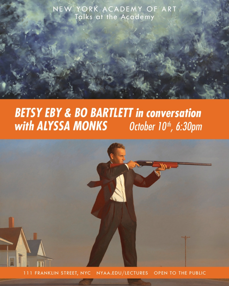 Betsy Eby & Bo Bartlett in conversation with Alyssa Monks
