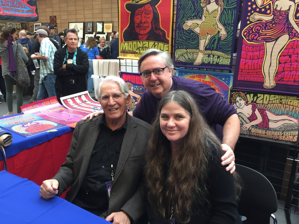 Ted Bahr with Wes Wilson and Carolyn Ferris at the TPRS Festival
