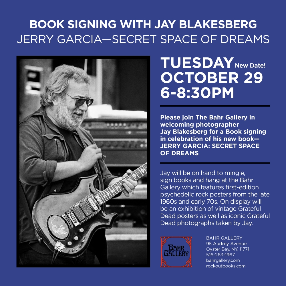 Jay Blakesberg Book Signing - Only LI Appearance