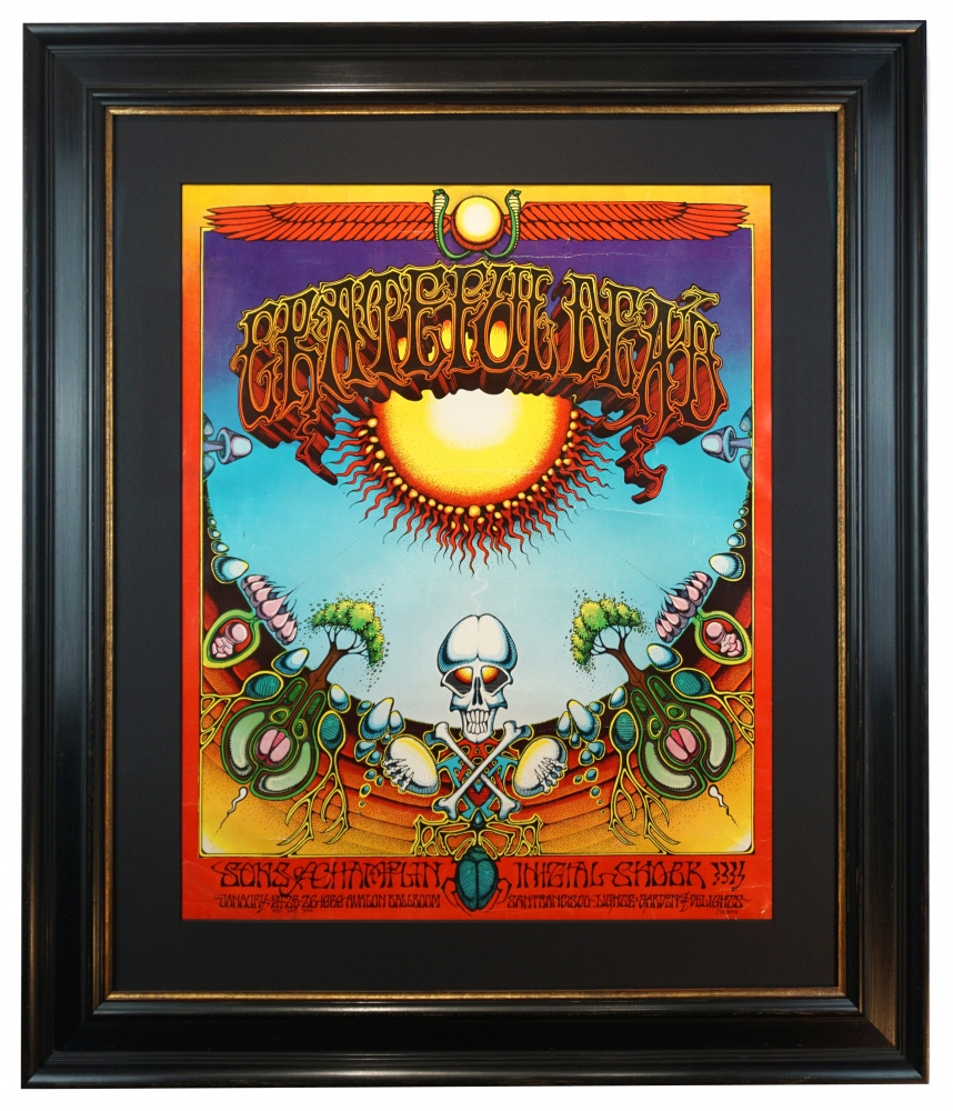 Vintage Psychedelic 60s and 70s Poster Art  - Browse Online at Bahr Gallery