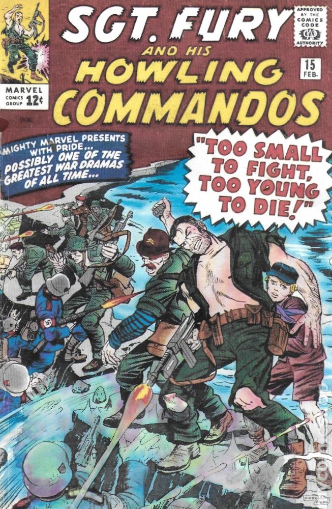 Press Release 6 (Sgt Fury interestingly)