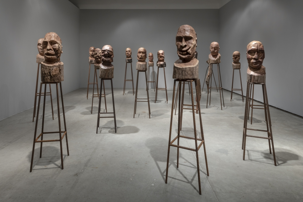 In Kader Attia's show at the Power Plant, tracks from colonialism's bloody past lead to here and now