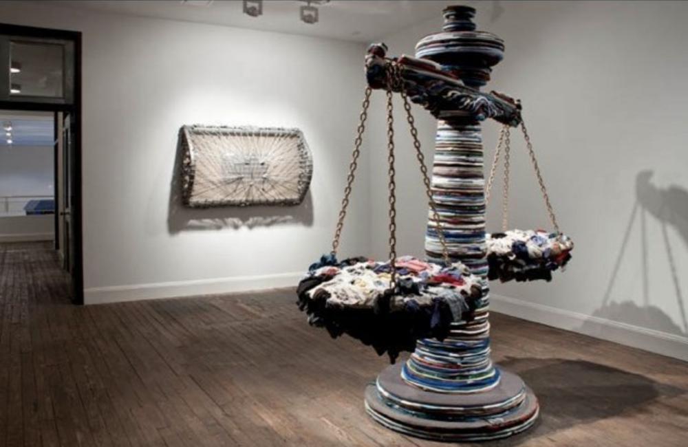 Nari Ward's 'Liberty and Orders' at Lehmann Maupin