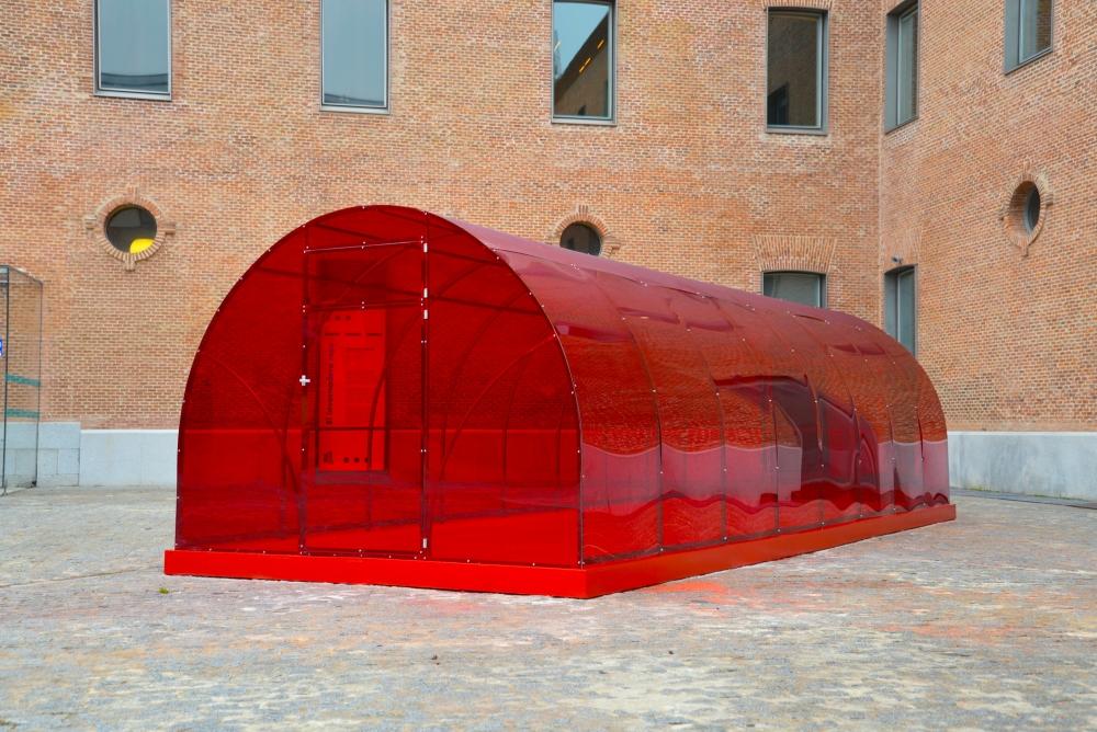 El invernadero rojo, Patrick Hamilton @ Centro de Cultura Contemporánea Condeduque, Madrid