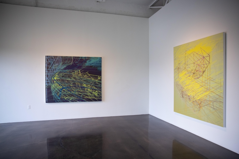 Glasstire Review - On Screen / Off Screen : Contemporary Painting & Technology