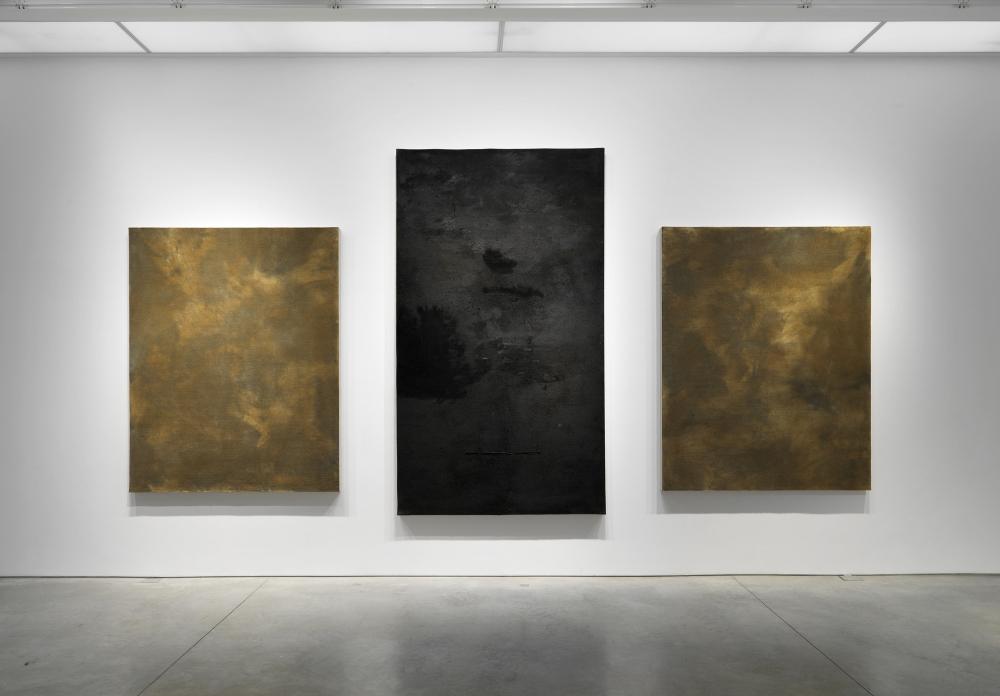 Arte Povera works by Pier Paolo Calzolari
