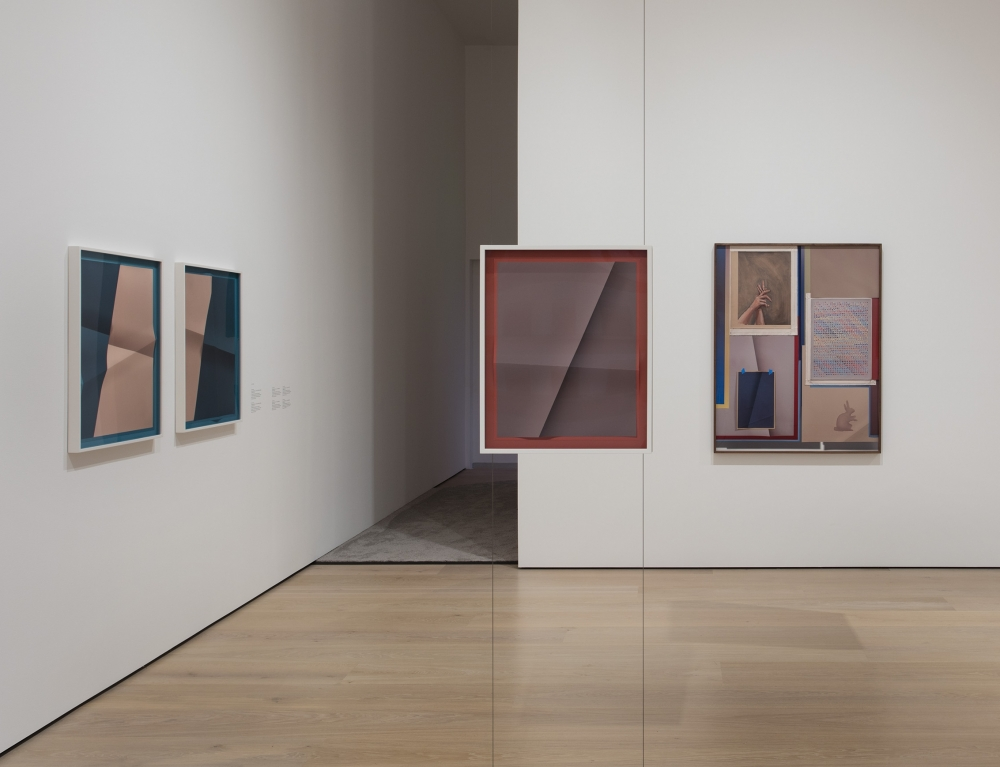 An exhibition view of John Houck's work as part of the Hammer Museum biennial