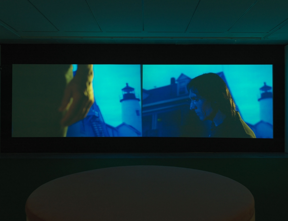 film installation by sue de beer that was reviewed by the new yorker