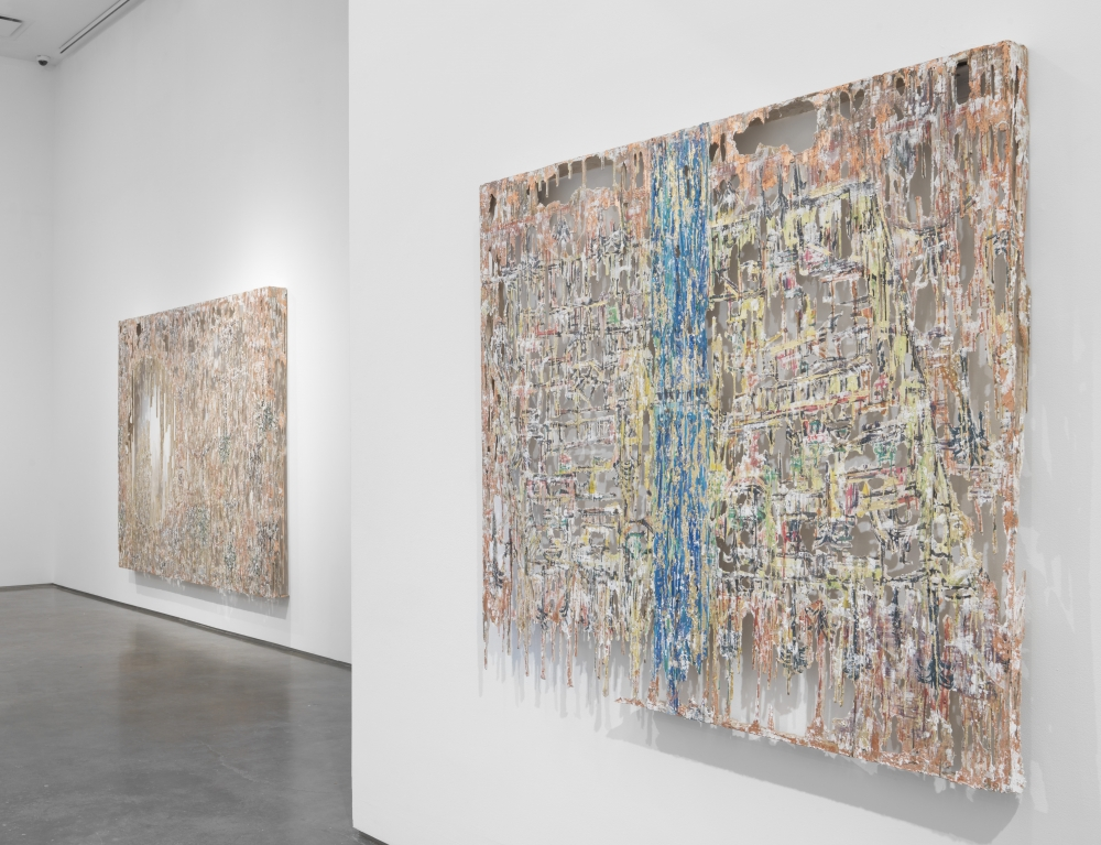 Diana Al-Hadid's exhibition at Marianne Boesky Gallery