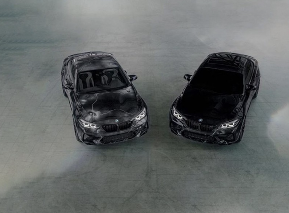 Forbes: Graffiti Pioneer Futura 2000 Designs Limited Edition BMW M2 Competition | FRIEZE L.A.