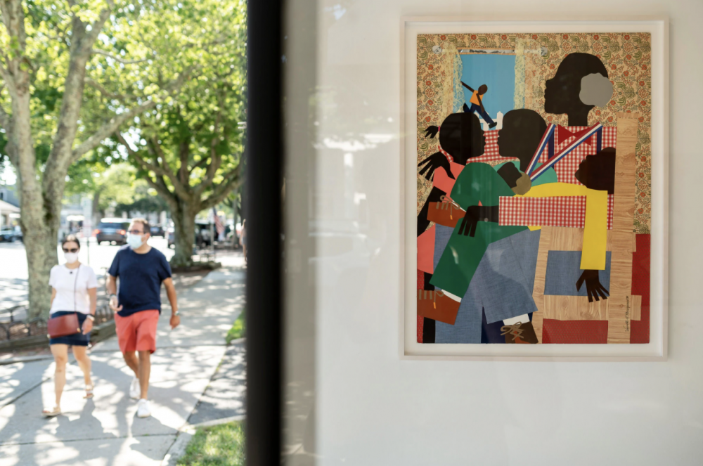 New York Times: Eastward, Ho! Even Art is Leaving for the Hamptons