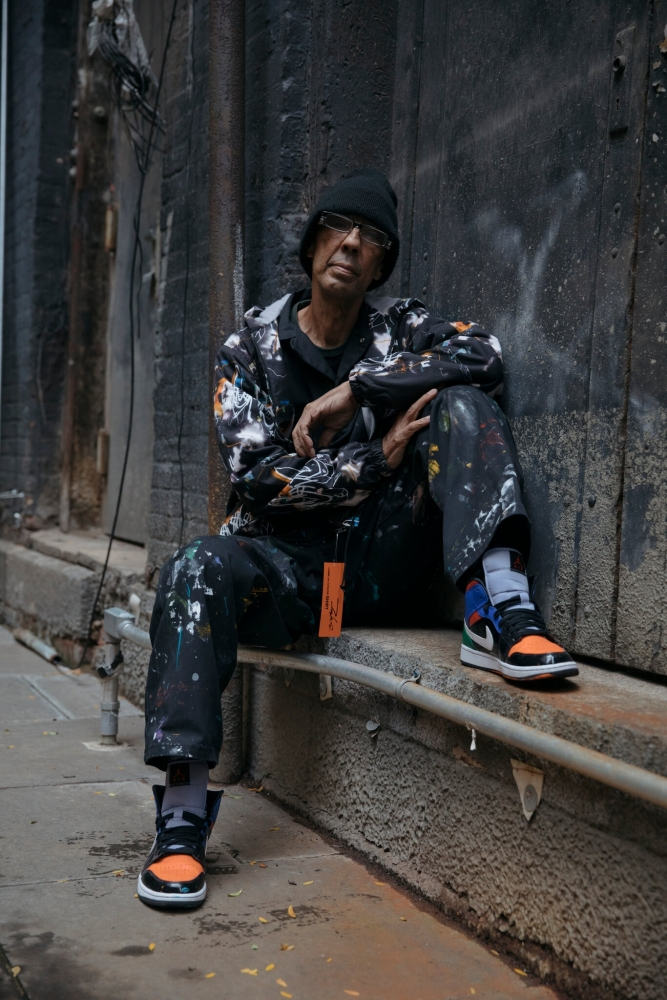 The New York Times: Futura, a King of Graffiti, Returns to His Roots