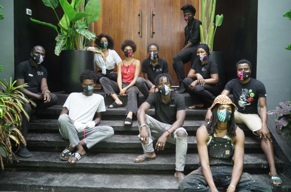 Kehinde Wiley Black Rock Senegal