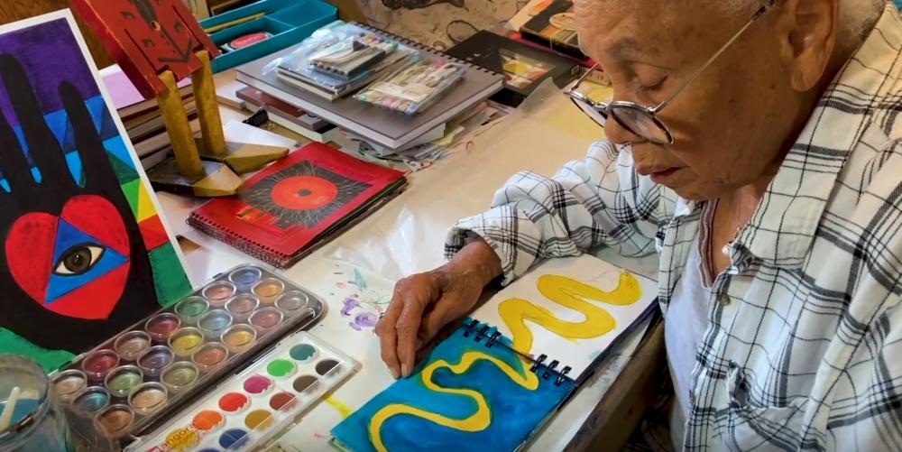 Betye Saar Studio Visit