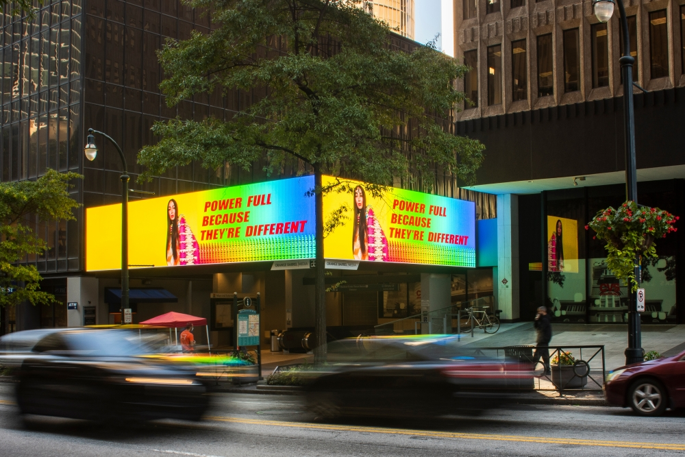 Jeffrey Gibson Encourages Voting With New Billboards