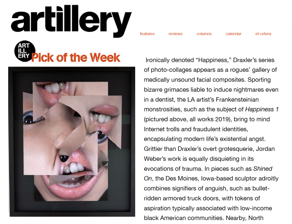 No Gallery - Artillery's Pick of the Week