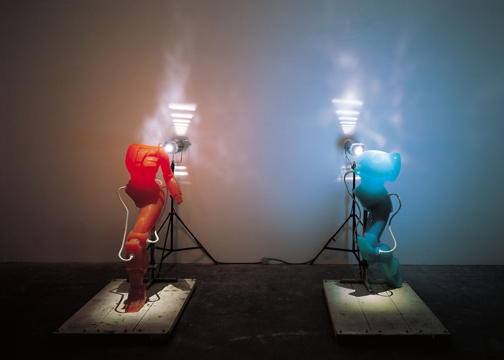 """""""The Korean artist looks to the failed utopias of the past to present a disturbing vision of the future."""""""